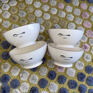 Rae Dun Bowls: Set of 4